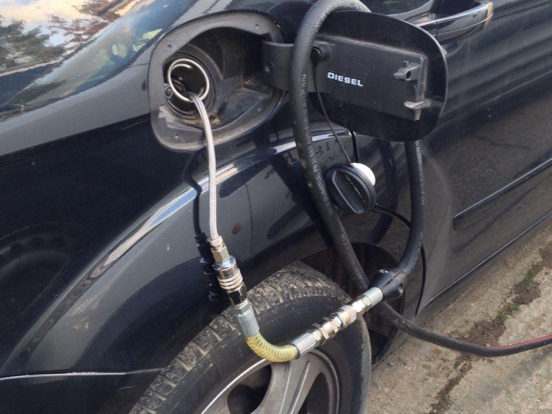 Fuel Drain On A Ford Galaxy  U2013 Wrong Fuel London