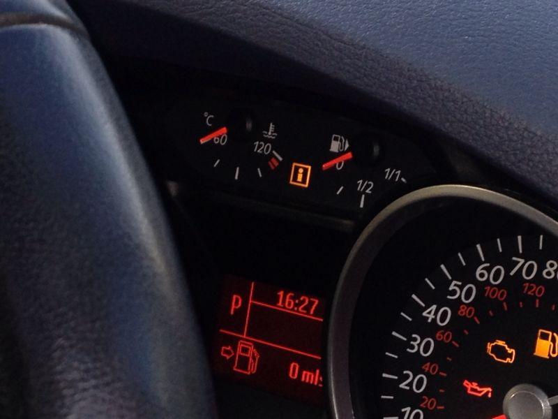 Empty fuel tank Ford Galaxy