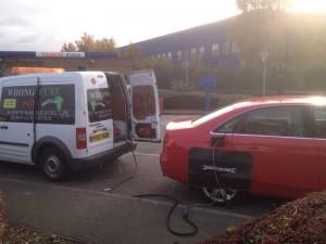 Mobile Fuel Drain Assist